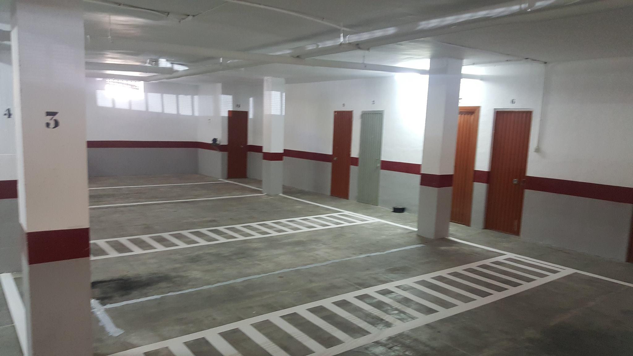Limpieza y pintura de parking pinturas y reformas adolfo - Pintura suelo parking ...